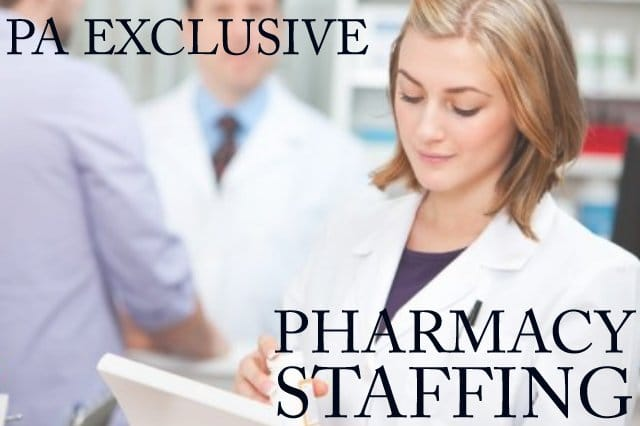 pharmacy staffing, independent pharmacy staffing, need to hire a pharmacist, pharmacy technician jobs, need help staffing my pharmacy