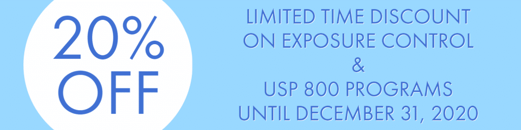 pharmacy exposure control plan, pharmacy usp 800 program
