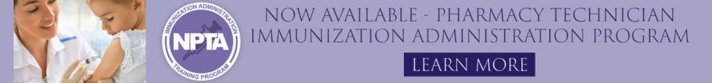 pharmacy technician immunization training program, covid 19 vaccine in pharmacy